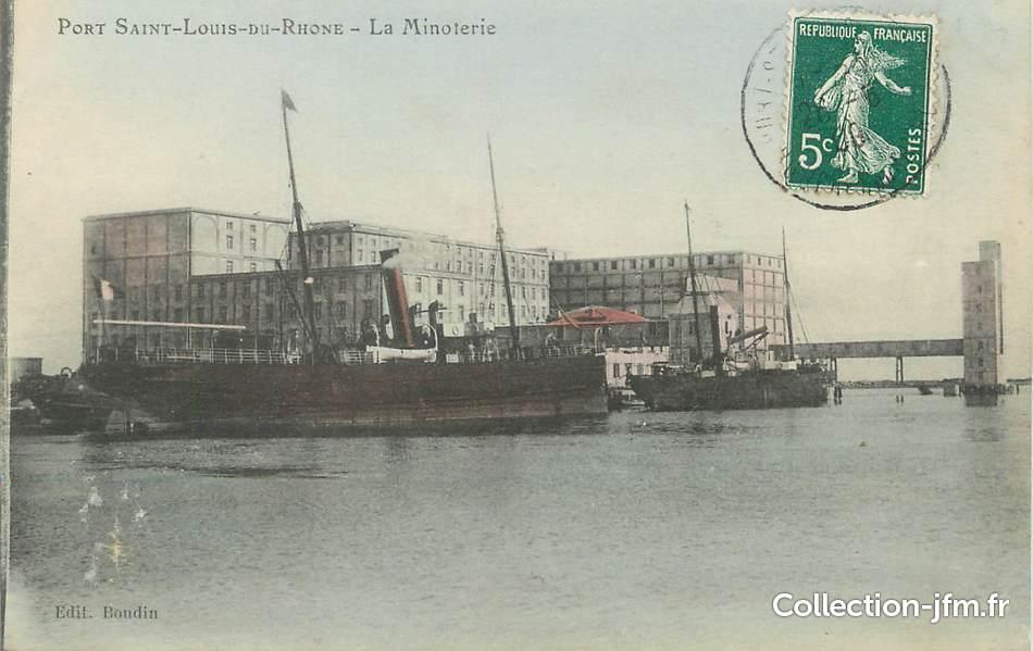 Cpa france 13 port saint louis du rh ne la minoterie 13 bouches du rhone autres - Hotel francois port saint louis du rhone ...