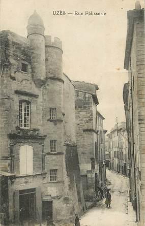"""/ CPA FRANCE 30 """"Uzès, rue Pélisserie"""""""