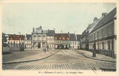 "CPA FRANCE 62 ""Guines, la Grande Place"""