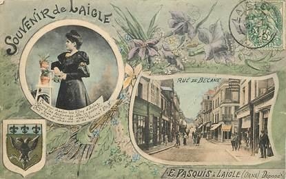 """CPA FRANCE 61 """"Souvenir de Laigle"""