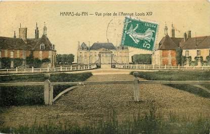 """CPA FRANCE 61 """"Haras du Pin, vue prise de l'avenue Louis XIV"""""""