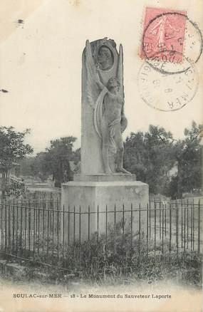 "/ CPA FRANCE 33 ""Soulac sur Mer"" / MONUMENT"