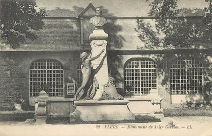 """/ CPA FRANCE 61 """"Flers"""" / MONUMENT"""