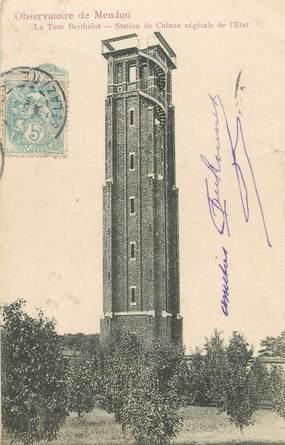 """/ CPA FRANCE 92 """"Observatoire de Meudon, la tour Berthelot"""""""