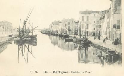 """/ CPA FRANCE 13 """"Martigues, entrée du canal"""""""