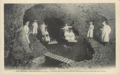 """/ CPA FRANCE 38 """"La Balme les Grottes, intérieur des grottes"""""""