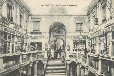 "/ CPA FRANCE 44 ""Nantes, passage Pommeraye """