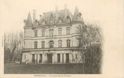 """/ CPA FRANCE 13 """"Charleval, vue générale du château"""""""