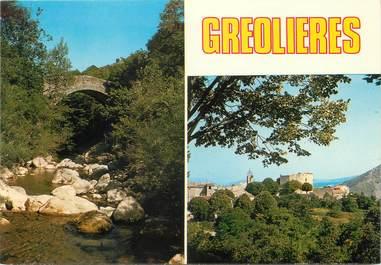 """/ CPSM FRANCE 06 """"Gréolières"""""""