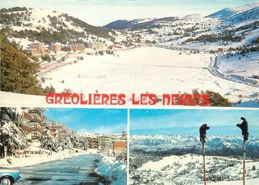 """/ CPSM FRANCE 06 """"Gréolières Les Neiges """""""