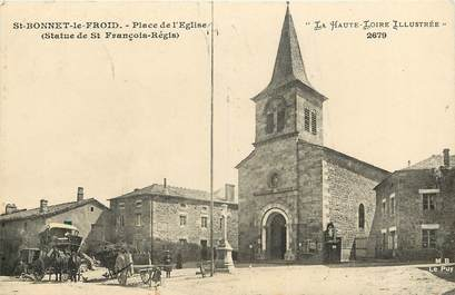 """CPA FRANCE 43 """"Saint Bonnet le Froid"""""""