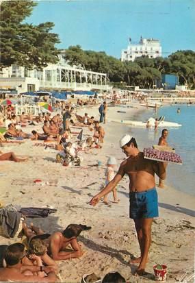 """/ CPSM FRANCE 06 """"Juan les Pins, les plages"""""""