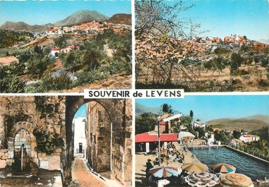 """/ CPSM FRANCE 06 """"Souvenir de Levens """""""
