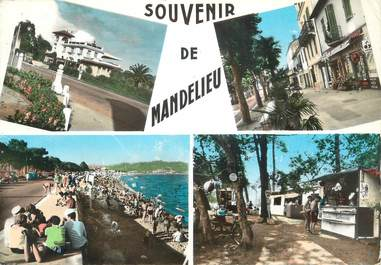 """/ CPSM FRANCE 06 """"Souvenir de Mandelieu"""""""