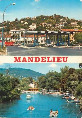 """/ CPSM FRANCE 06 """"Mandelieu, la colline, la Siagne"""""""