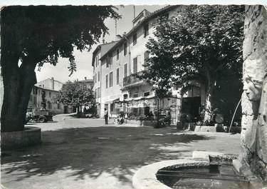 """/ CPSM FRANCE 06 """"Mougins, la grande place et ses fontaines"""""""