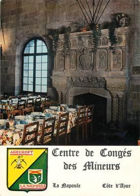 """/ CPSM FRANCE 06 """"La Napoule, Agecroft, centre de congés des mineurs"""""""