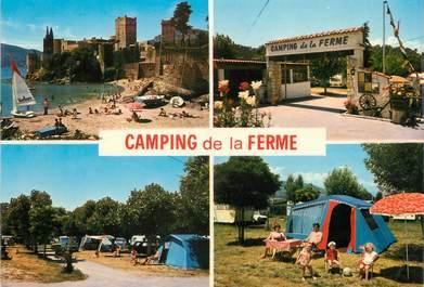 """/ CPSM FRANCE 06 """"La Napoule, camping de la Ferme """""""