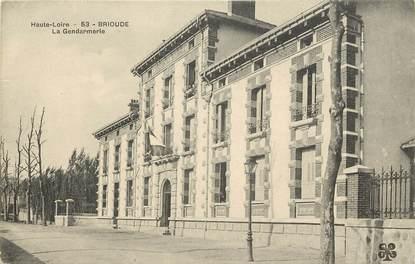 "CPA FRANCE 83 ""Brioude, la Gendarmerie"""