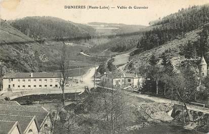 """CPA FRANCE 43 """"Dunières, Vallée de Gournier"""""""
