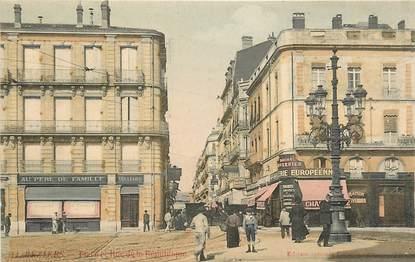 """CPA FRANCE 34 """"Béziers, rue de la République"""""""