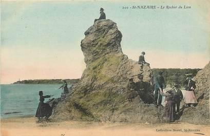 """CPA FRANCE 44 """"Saint Nazaire, le rocher du Lion"""""""