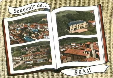 """/ CPSM FRANCE 11 """"Bram, vue générale """""""