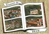 """11 Aude / CPSM FRANCE 11 """"Bram, vue générale """""""