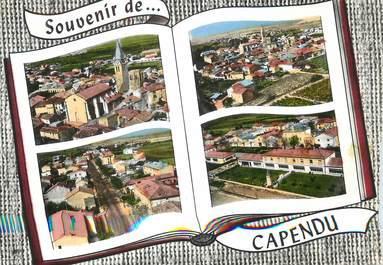 """/ CPSM FRANCE 11 """"Souvenir de Capendu"""""""