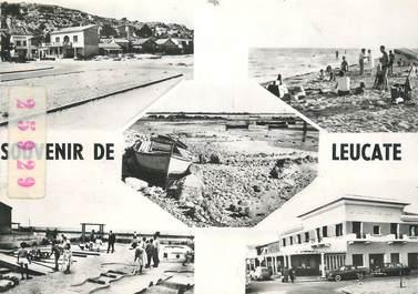 """/ CPSM FRANCE 11 """"Souvenir de Leucate"""""""