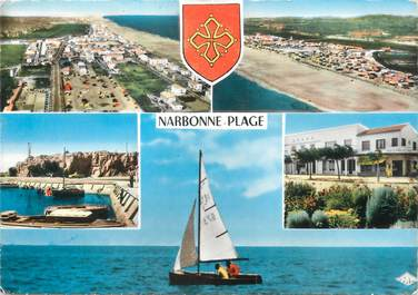 "/ CPSM FRANCE 11 "" Narbonne Plage """