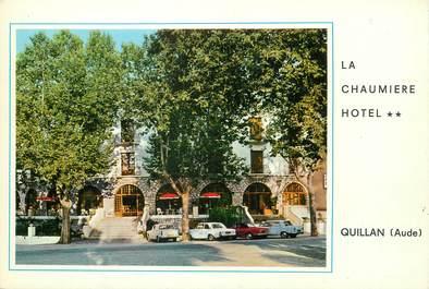 """/ CPSM FRANCE 11 """"Quillan, Hôtel La Chaumière"""""""