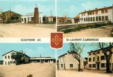 """/ CPSM FRANCE 11 """"Saint Laurent de la Cabrerisse """""""