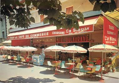 """/ CPSM FRANCE 12 """"Espalion, café du commerce"""""""