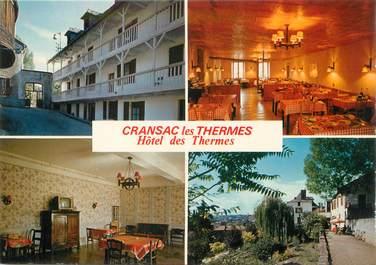 """/ CPSM FRANCE 12 """"Cransac Les Thermes, l'hôtel des Thermes"""""""