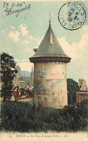 """CPA FRANCE 76 """"Rouen, la Tour de Jeanne d'Arc"""""""