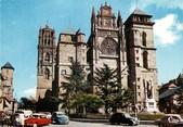 """12 Aveyron / CPSM FRANCE 12 """"Rodez, la cathédrale"""""""
