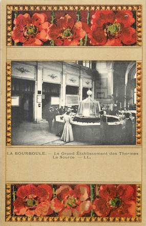 "CPA FRANCE 63 ""La Bourboule, le grand Etablissement des Thermes"""