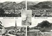 """12 Aveyron / CPSM FRANCE 12 """"Saint Affrique, vue générale rocher de Caylus"""""""