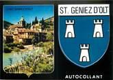 """12 Aveyron / CPSM FRANCE 12 """"Saint Geniez d'Olt"""" / AUTOCOLLANT"""