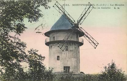 """CPA FRANCE 93 """"Montfermeil, le Moulin de la Galette"""""""