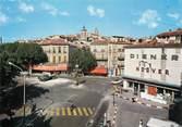 """13 Bouch Du Rhone / CPSM FRANCE 13 """"Aubagne, la place des Quinze et la vieille ville"""""""