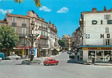 """/ CPSM FRANCE 13 """" Aubagne, carrefour et rue de la république """""""