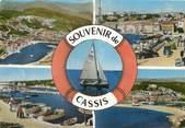 """13 Bouch Du Rhone / CPSM FRANCE 13 """"Cassis, le port, la plage"""""""
