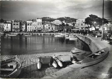 """/ CPSM FRANCE 13 """"Cassis, le port vu du quai Saint Pierre"""""""