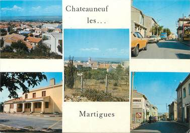 "/ CPSM FRANCE 13 ""Chateauneuf les Martigues"""
