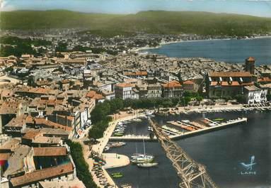 """/ CPSM FRANCE 13 """"La Ciotat, l'église et le quartier du port """""""