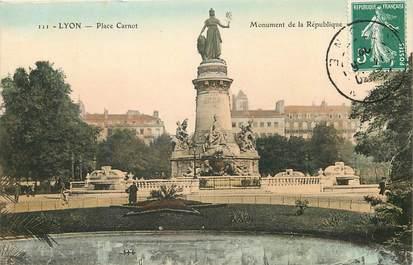 "CPA FRANCE 69 ""Lyon, Place Carnot"""