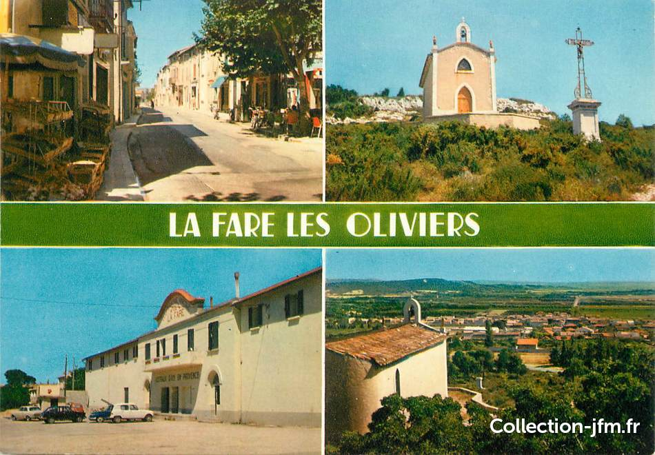 Cpsm france 13 la fare les oliviers 13 bouches du for Piscine la fare les oliviers