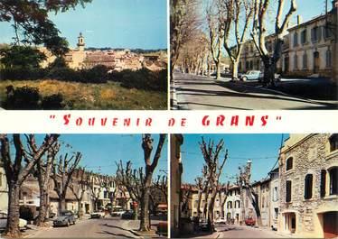 """/ CPSM FRANCE 13 """"Souvenir de Grans"""""""